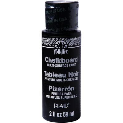 chalkboard paint what surfaces folkart multi surface chalkboard paint 2oz black craft