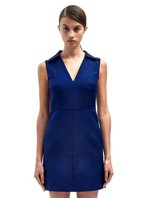 Dress Sharapova Sleeveless Mini valentino womens sleeveless mini dress in blue lyst