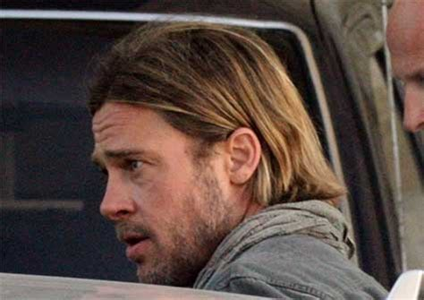 brad pitt world war z hair length brad pitt world war z teaser trailer