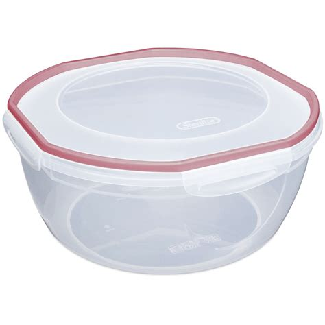 Bowl With Lid sterilite plastic bowl with lid in plastic food containers