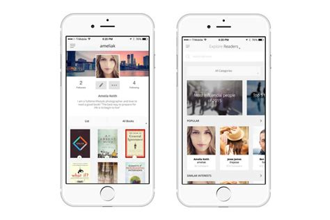 design app book bookmarq app brings book recs from friends and influencers