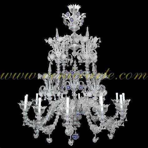 kronleuchter diamant diamant kronleuchter aus murano glas rezzonico