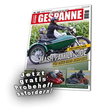 Abdeckplane Motorrad Gespann by Motorrad Gespanne Die Zeitschrift Der Gespannfahrer