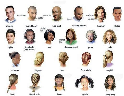 different types of haircuts using beijing 77 best images about describing people on pinterest