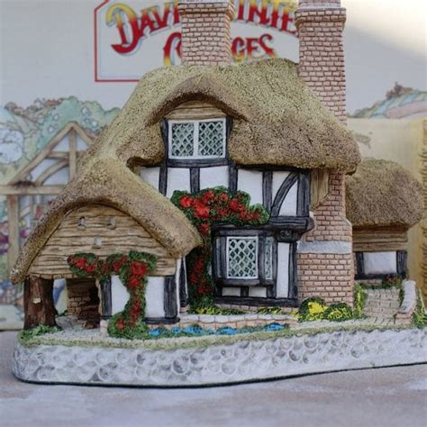118 best david winter cottages other miniatures images