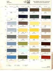 chevrolet truck paint code location get free image about