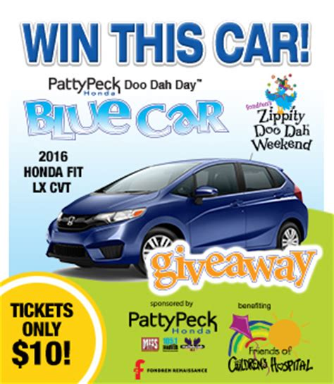 Today Show Car Giveaway - doo dah day blue car giveaway foch