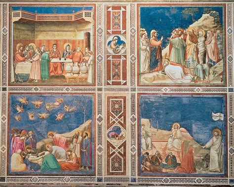 Wedding At Cana Giotto by Ch 14 17 Medeival History Ii With Schwartz At