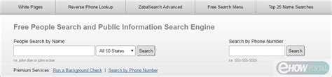 Search Zaba Zabasearch How To Find Peoples With Search Engines