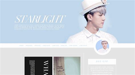 themes tumblr site fansite themes