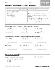 comparing and ordering numbers worksheets 5th grade