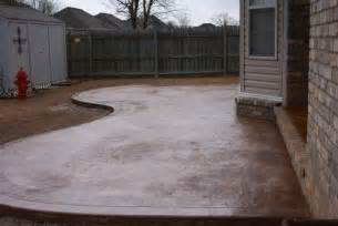 how to concrete patio concrete patios harmon concrete