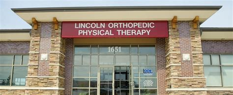 therapists lincoln ne lincoln orthopedic physical therapy pc 1651 n 86th st