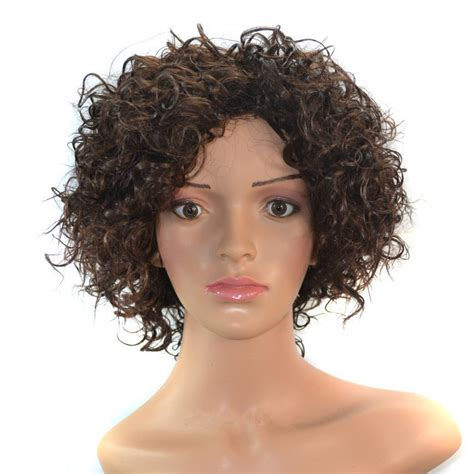 short curly wigs for black women over 50 wigs for women over 50 large cap short hairstyle 2013