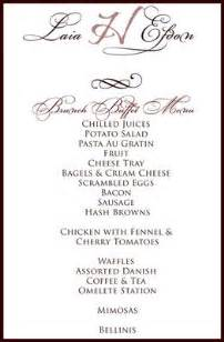 wedding buffet menu cards images i got the ring formerly known as no ring just