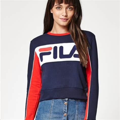Sweater Fila 27 Fila Sweaters New Fila Maggie Sweater From