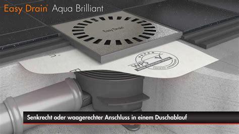 gitter sieb designs easy drain aqua brilliant bodenablauf einbau