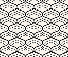 Pola Motif Chevrons Pattern black and white chevron geometric seamless pattern vector