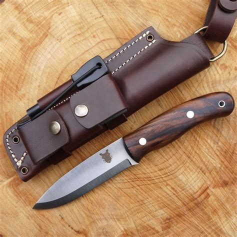 Highest Quality Kitchen Knives tbs boar bushcraft knife nordic dangler sheath dc4 amp f