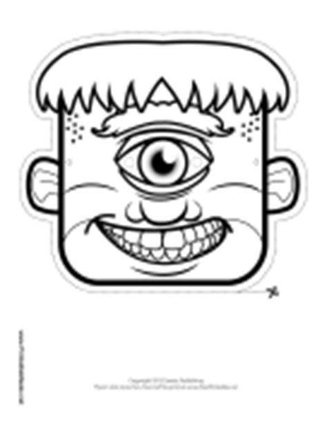 Cyclops Mask Template printable masks