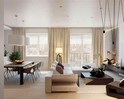 wohnzimmer mit esstisch 43 pr 228 chtige moderne wohnzimmer designs alexandra fedorova