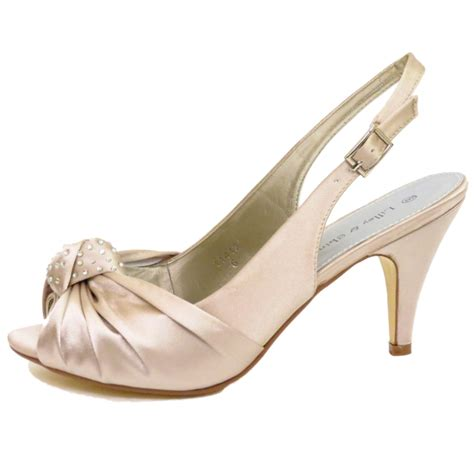 gold shoes size 3 gold satin bridal bridesmaid strappy wedding