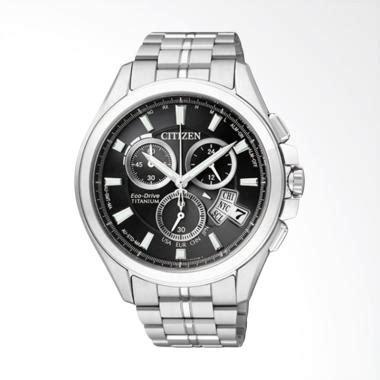 Jam Tangan Pria New Citizen Rantai Silver White Premium jual citizen eco drive radio duratect titanium jam tangan pria black silver by0051 55e