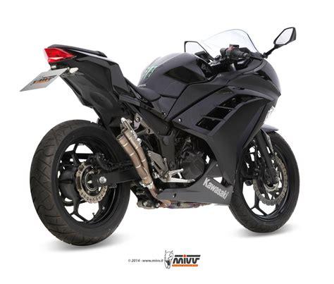 Motorrad Hersteller Aus Sterreich by Sport Auspuff Mivv Gun In Titan Kawasaki 300