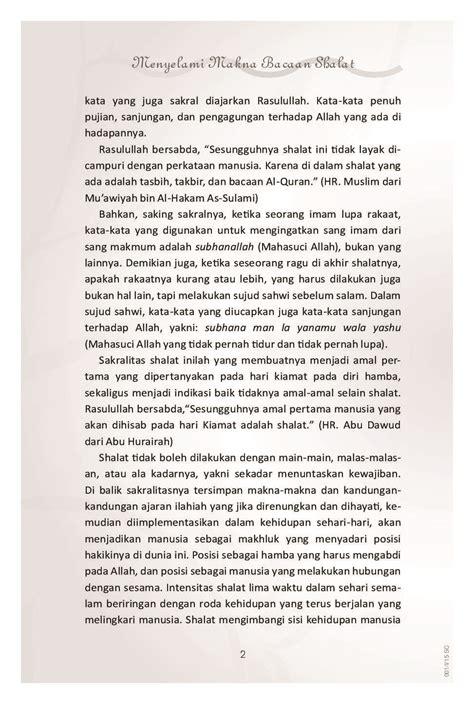 Buku Bacaan 3 jual buku menyelami makna bacaan shalat oleh fajar kurnianto gramedia digital indonesia