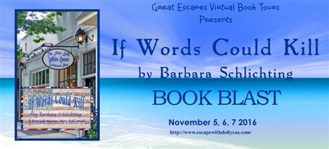 this could hurt a novel books book blast if words could kill by barbara schlichting