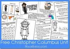 christopher columbus biography for middle school christopher columbus resources and printables homeschool