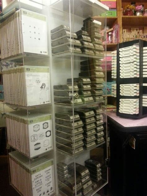 stin up demonstrators craft rooms stin up storage ink pads punches clearsts