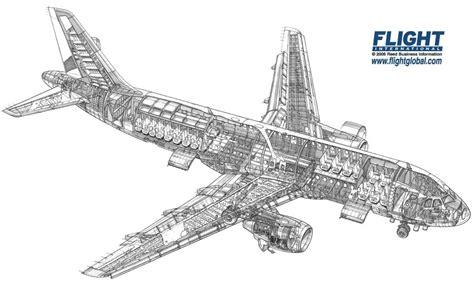 design engineer airbus airbus a320 cutaway drawing airliner cutaway drawings