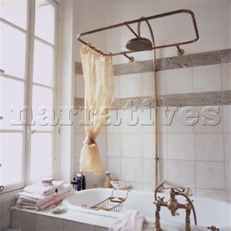 Fashioned Shower jb130 14b fashioned shower above roll top bath in
