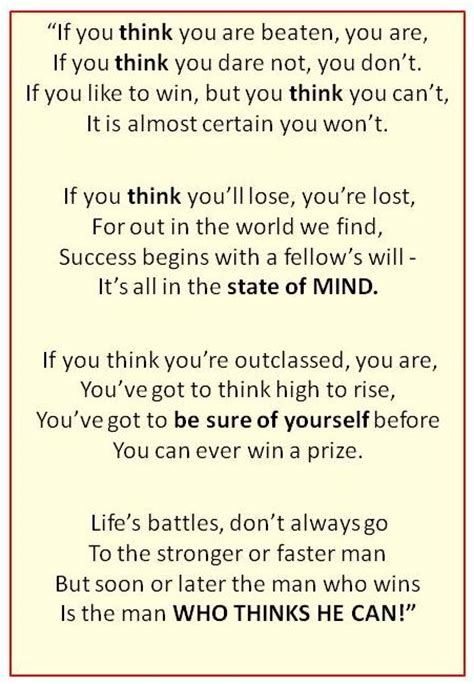 if you ve thought about success mind set poemunbamboozled