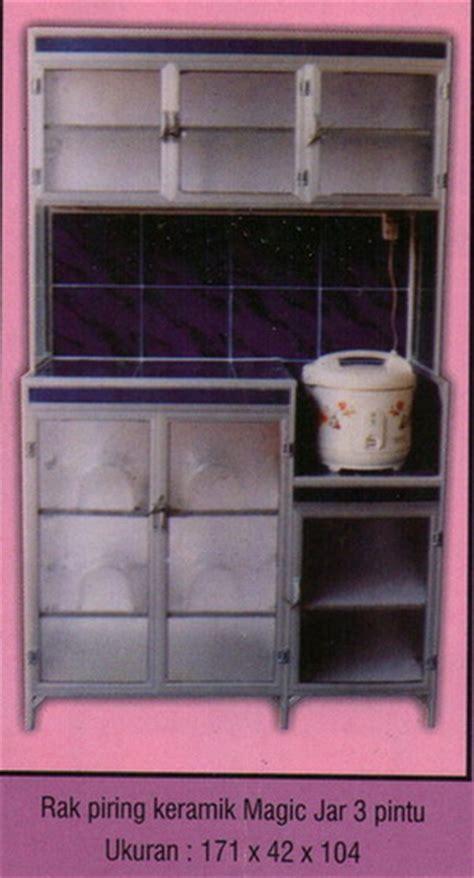 Rak Piring Jumbo rak piring alluminium mahkota kreasi furniture