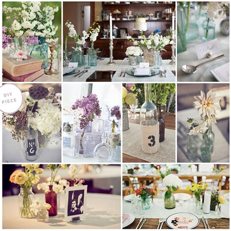 table decor items charming barn wedding ideas