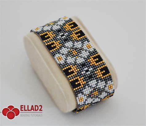 Loom Bracelet Pattern   Beading Patterns Ellad2