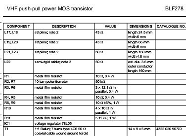 harga transistor blf 278 harga transistor blf 278 28 images cari transistor 2sc2782 2sc2694 2sc1946a 2sc2053 rd70hvf1