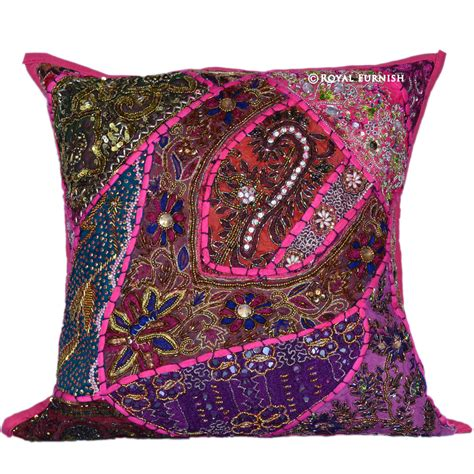 Embroidered Pillows by 12 Cool Embroidered Throw Pillows Royal Furnish