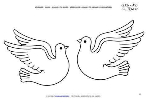 what color is dove coloring page doves color picture of doves