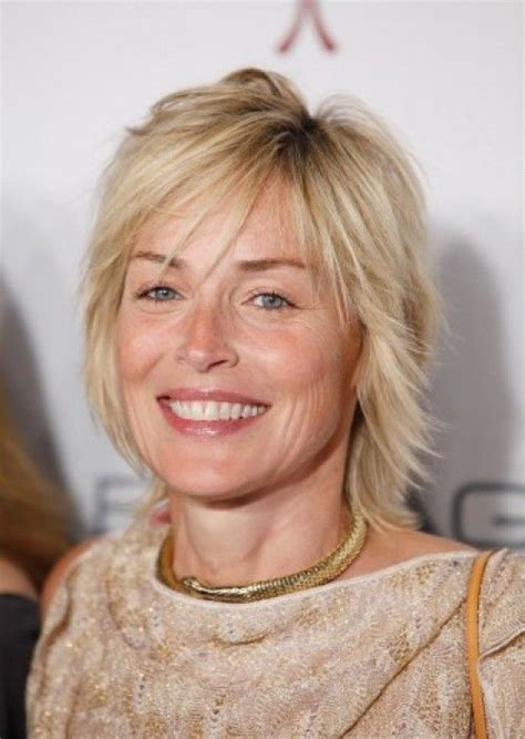 medium shaggy hairstyles for women over 40 7 sexy shag hairstyles over 40 sharon stone s choppy