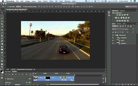video tutorial edit photoshop how to edit video in photoshop cc and cs6 the basics