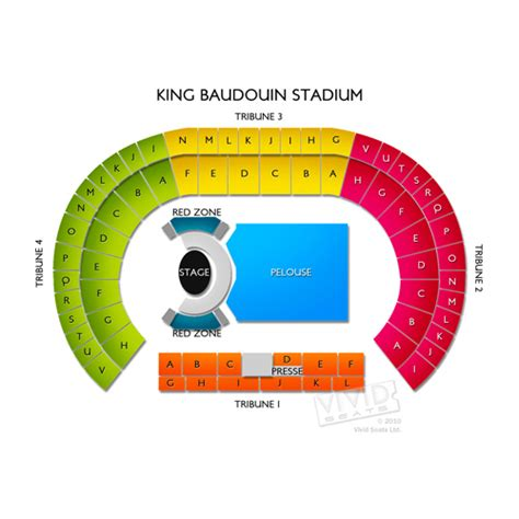 king baudouin stadium seating chart seats