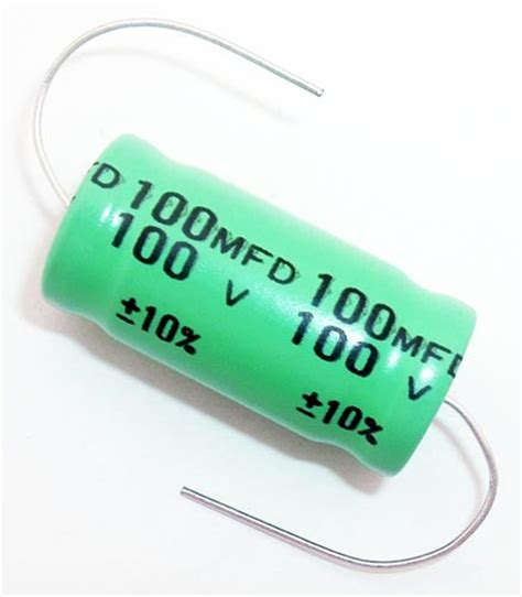 100uf capacitor polarity electrolytic capacitors axial west florida components