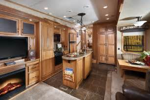 Voltage Rv Floor Plans luxury toy haulers