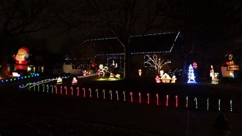 butcher christmas light display overland park kansas