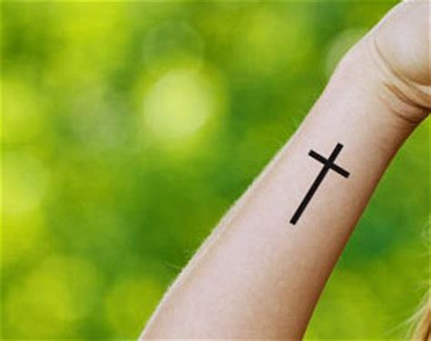 cross tattoo etsy