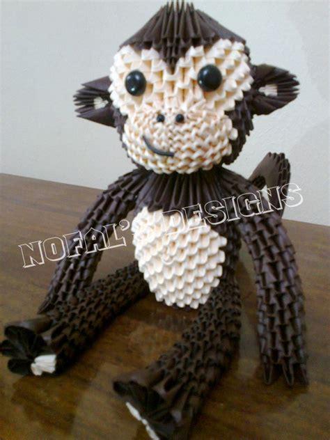 monkey album mohammad nofal 3d origami