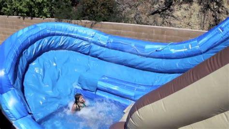 Coolest Treehouse In The World tree house waterslide u turn water slide rental magic